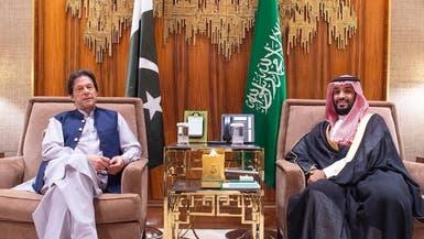 محمد بن سلمان يبحث مع خان أوضاع المنطقة والتعاون المشترك