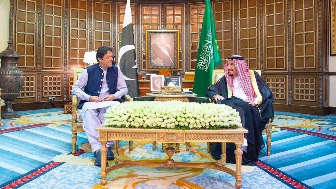 عمران خان وملک سلمان
