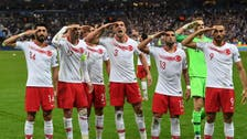 UEFA investigating Turkish footballers for saluting Turkey's Syria invasion
