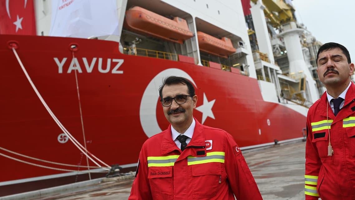 وزير الطاقة التركي فاتح دونماز(فرانس برس)
