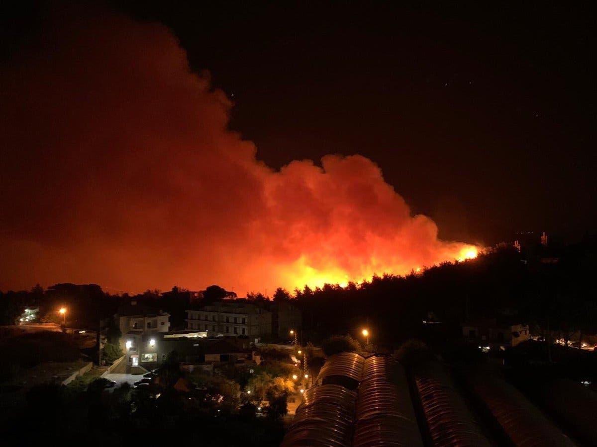 لبنان يحترق