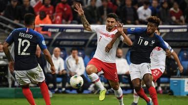 تركيا تتعادل مع فرنسا وتحرمها من التأهل المبكر