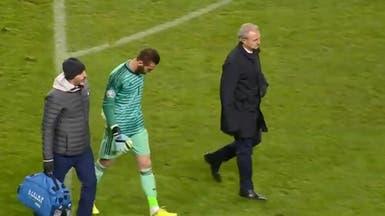 شكوك حول مشاركة دي خيا في مباراة يونايتد وليفربول