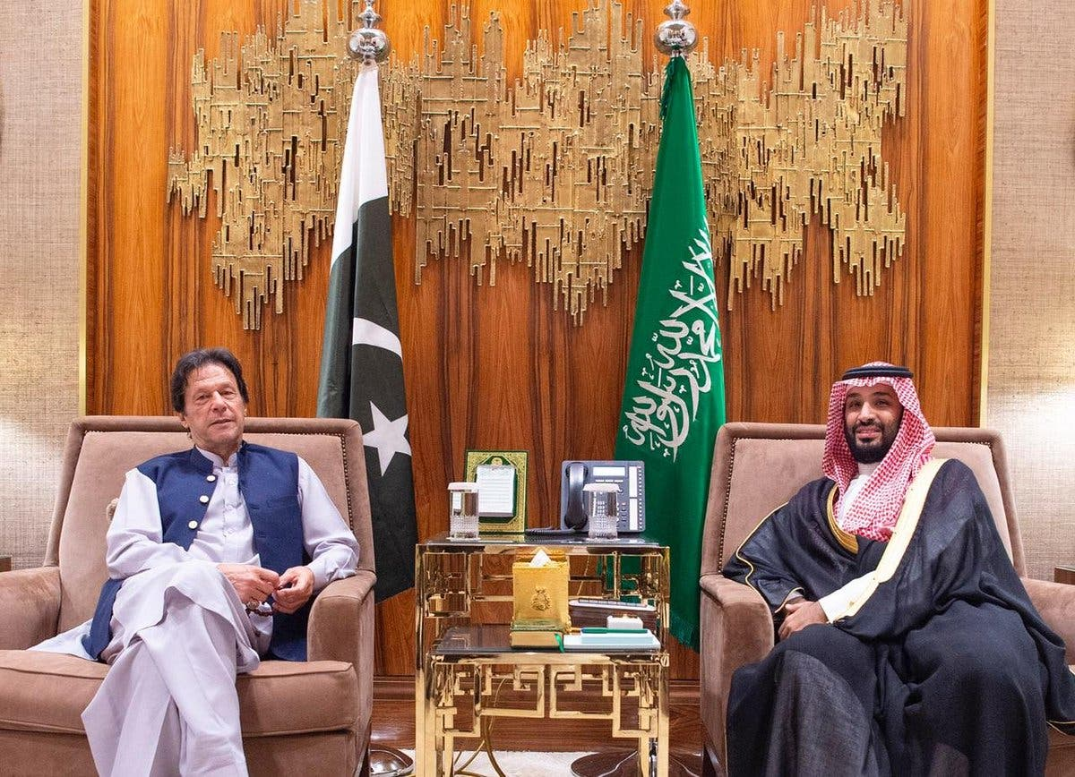 imran khan saudi crown prince