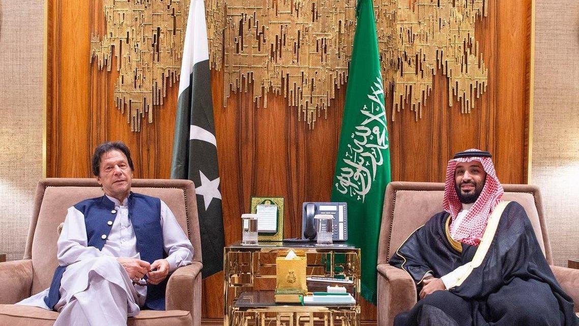 imran khan saudi crown prince