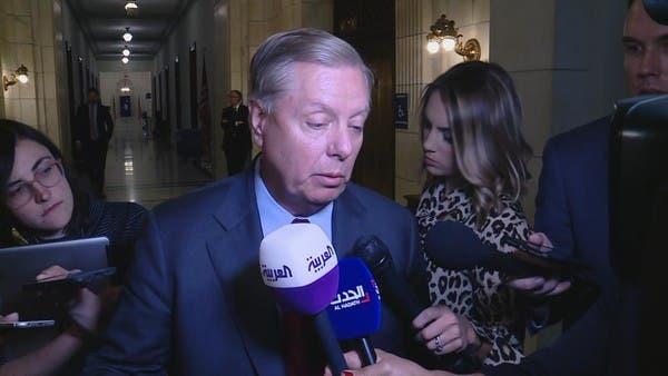 غراهام للعربية: سأقدم مشروع قرار بالعقوبات ضد تركيا غدا