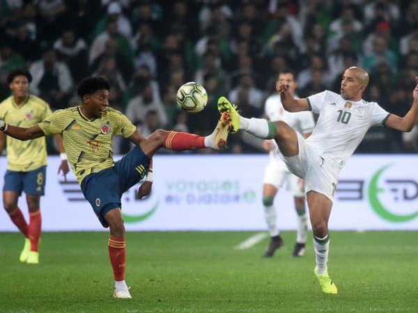 منتخب الجزائر يهزم كولومبيا بثلاثية في لقاء ودي