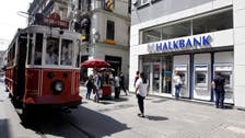 Turkey's Halkbank shares drop after muted Trump-Erdogan meeting