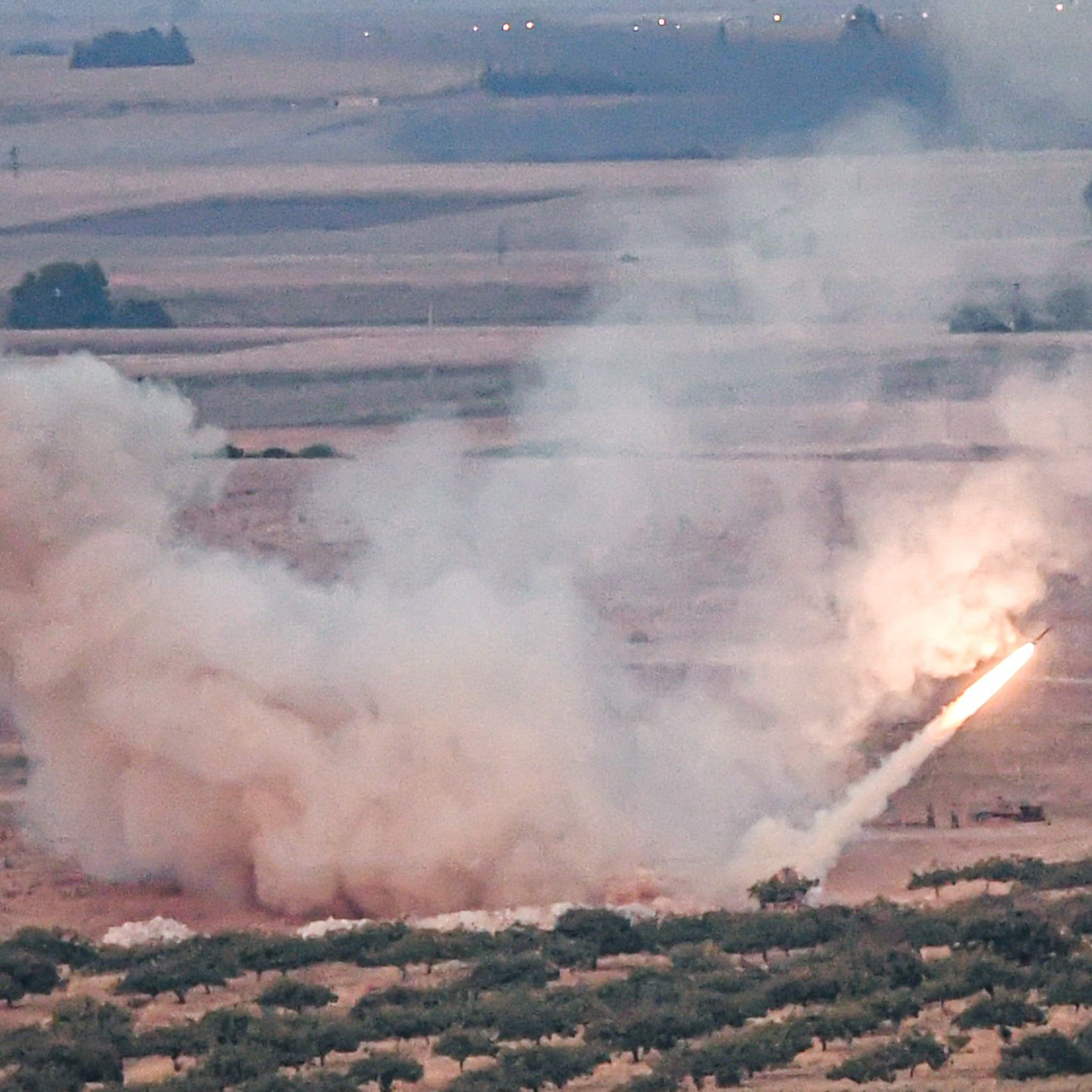 قصف تركي جديد على مناطق الأكراد في ريف حلب