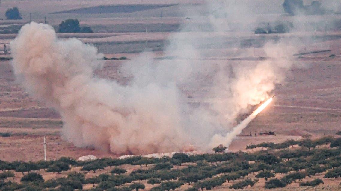 من القصف التركي على شمال سوريا