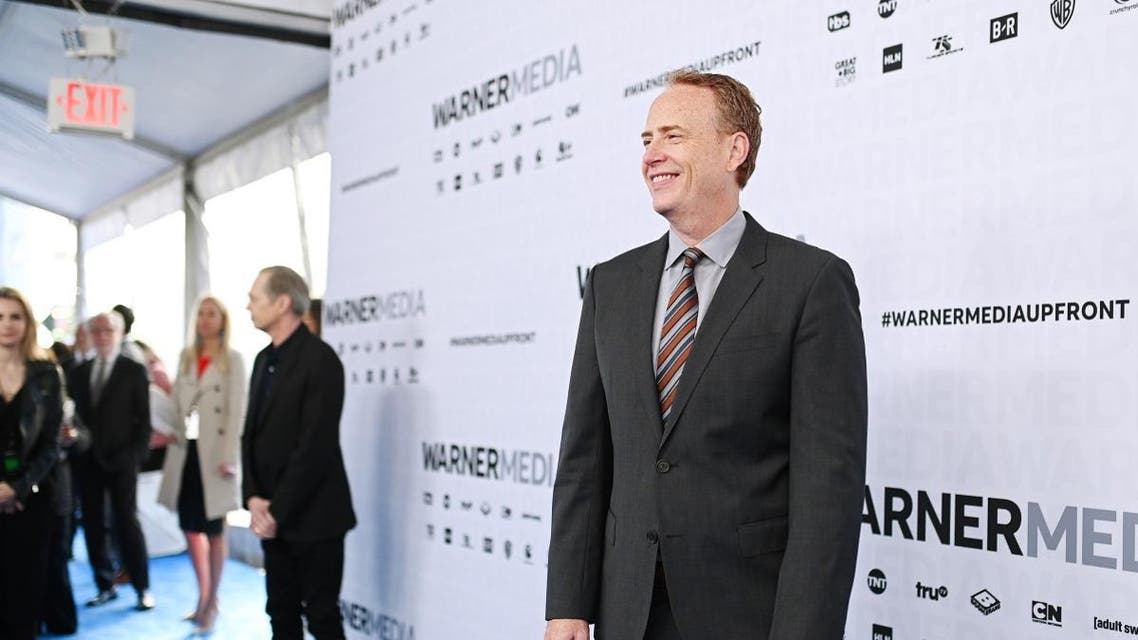 Bob Greenblatt, Chairman, WarnerMedia Entertainment and Direct-to-Consumer attends the WarnerMedia Upfront 2019 arrivals on the red carpet at The Theater at Madison Square Garden on May 15, 2019 in New York City. (AFP)