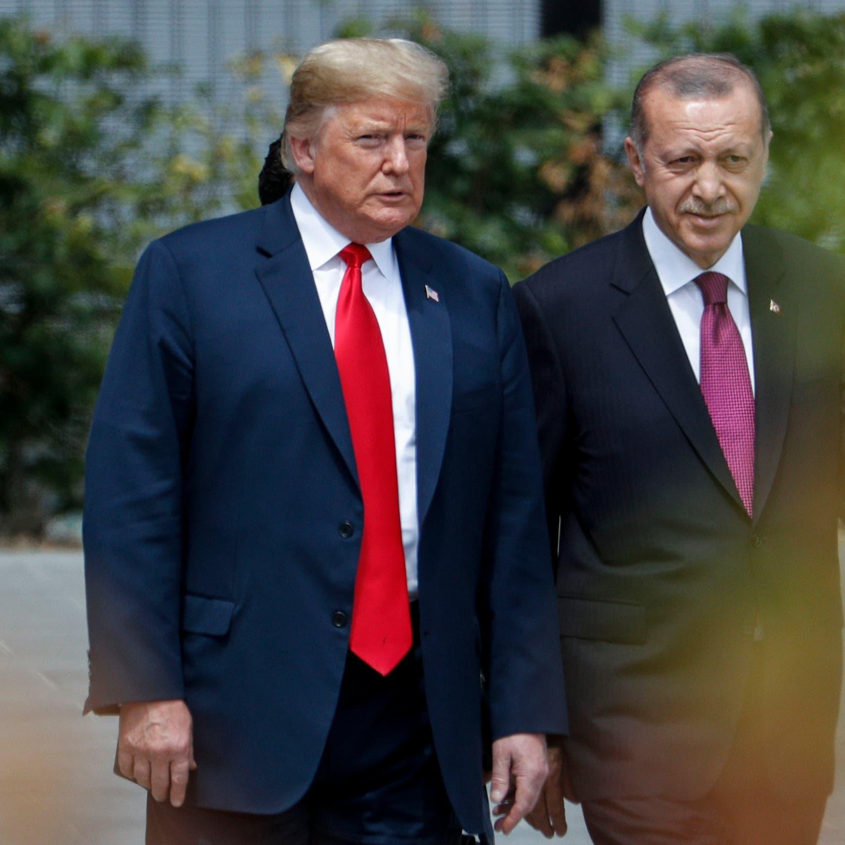مسؤول أميركي يكشف: هذا ما دار بين ترمب وأردوغان
