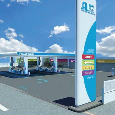 الدريس للعربية: نستهدف تطوير 111 محطة وقود وبناء 4 مواقع لوجستية