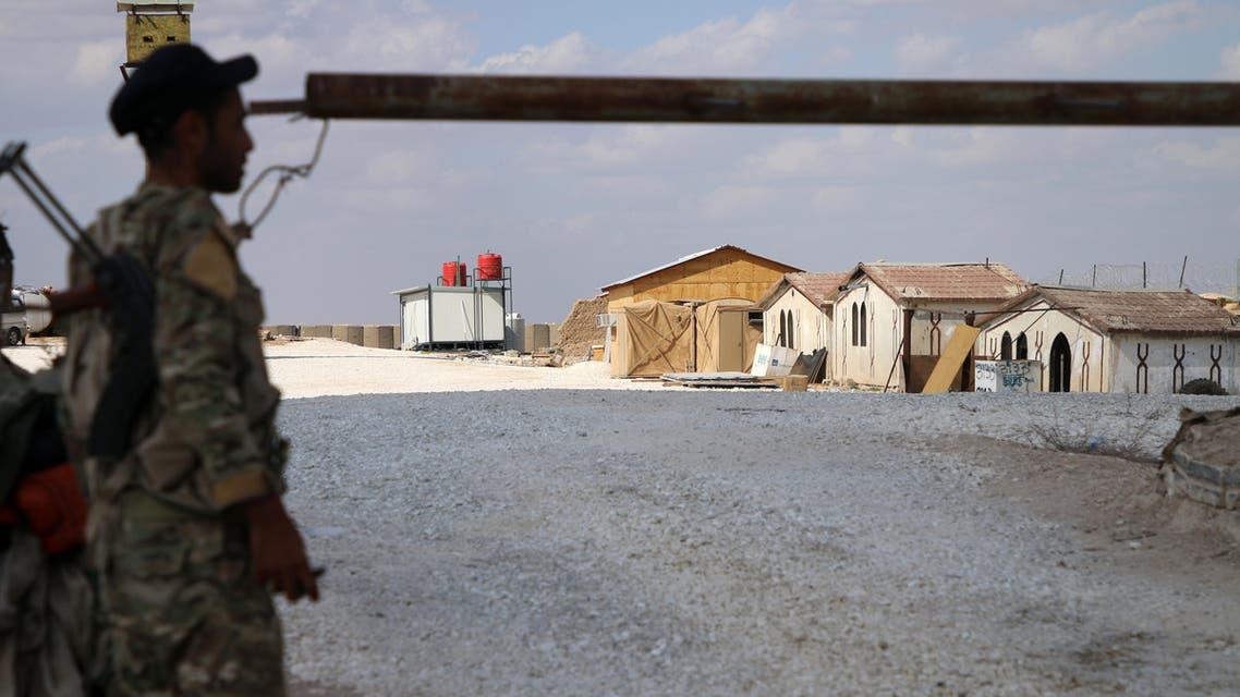 US base Syria Kurdish fighter forces regime - AFP