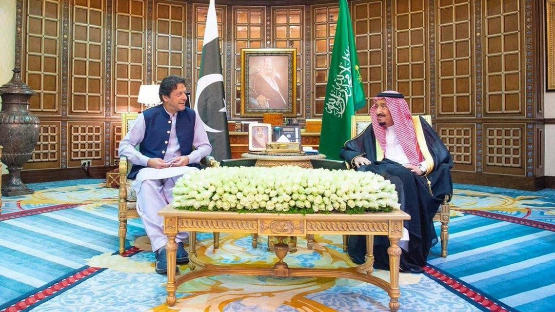 imran khan saudi king salman