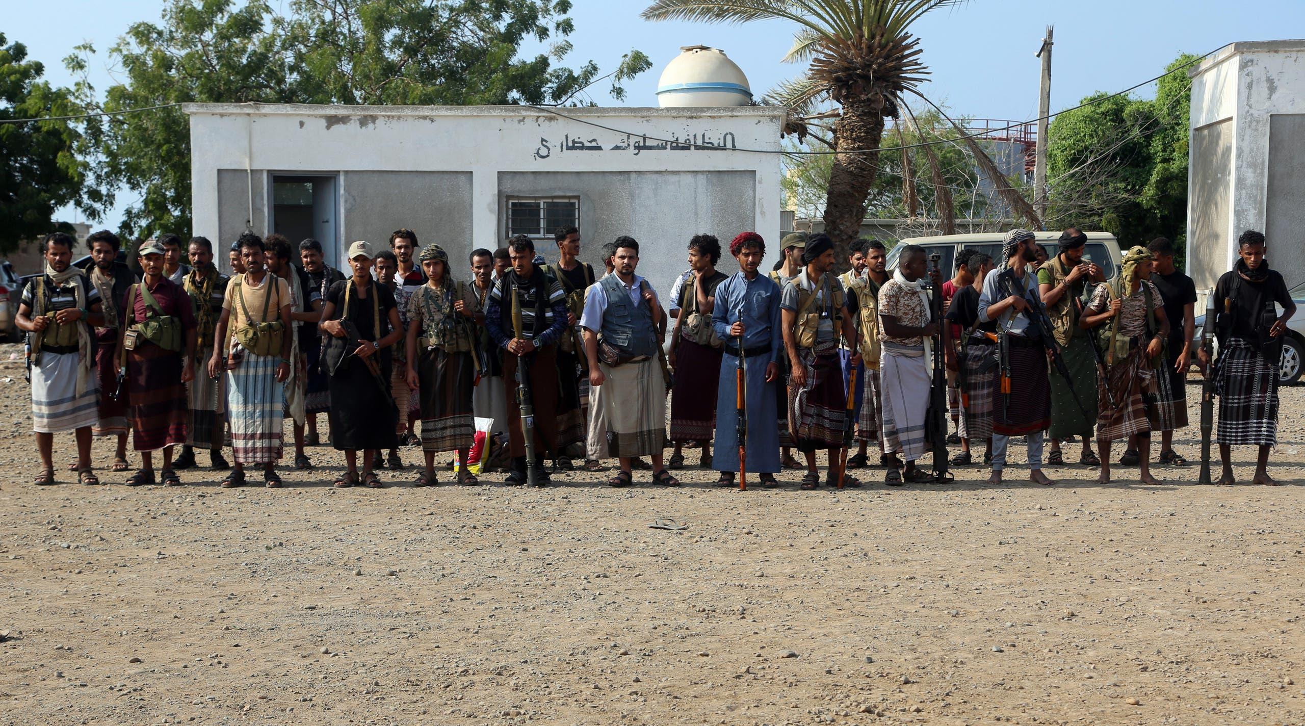 مقاتلون حوثيون في الحديدة (أرشيفية)