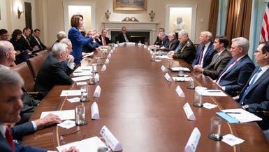 اجتماع عاصف بالبيت الأبيض ينتهي بمغادرة بيلوسي.. وترمب يغرّد: مريضة