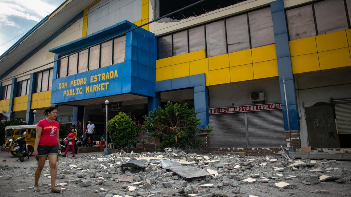 earthquake October 17 Philippines - AFP