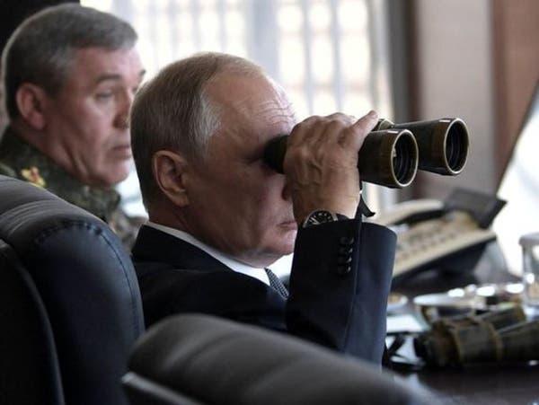 بوتين يشرف على مناورات شملت إطلاق صواريخ استراتيجية