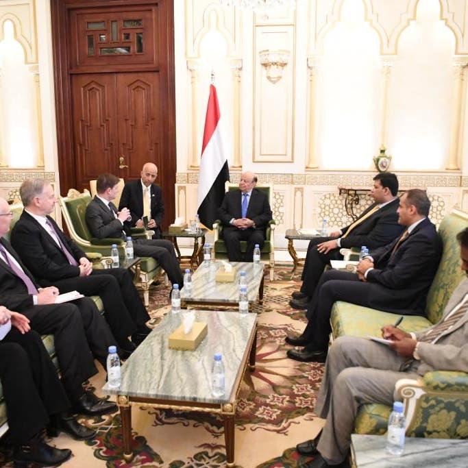 رئيس اليمن: حذرت من سعي إيران للسيطرة على هرمز والمندب