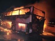 السعودية.. وفاة 35 مقيماً إثر حادث حافلة على طريق الهجرة