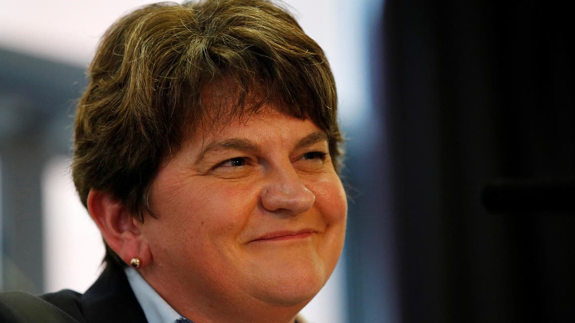 Arlene Foster DUP Brexit Northern Ireland UK - Reuters