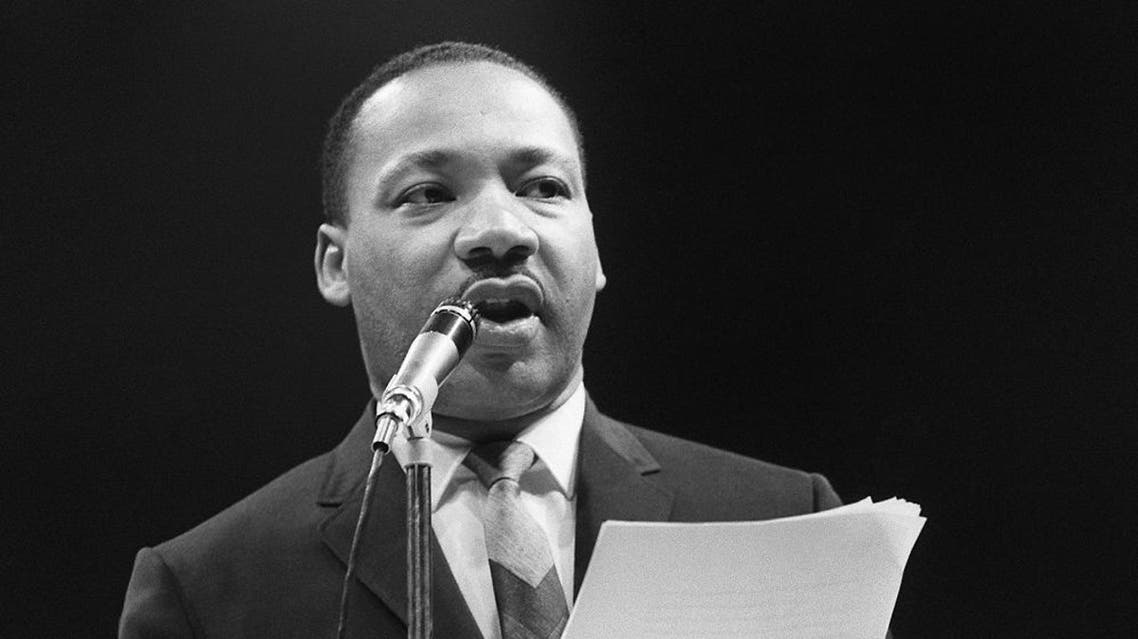 Martin Luther King. afp