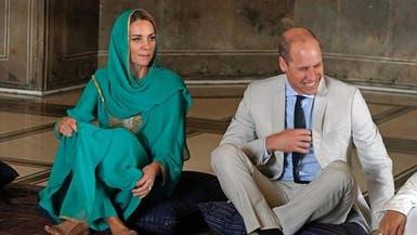 كايت تعيد ذكريات الأميرة ديانا.. وترتدي زيا باكستانيا أخضر