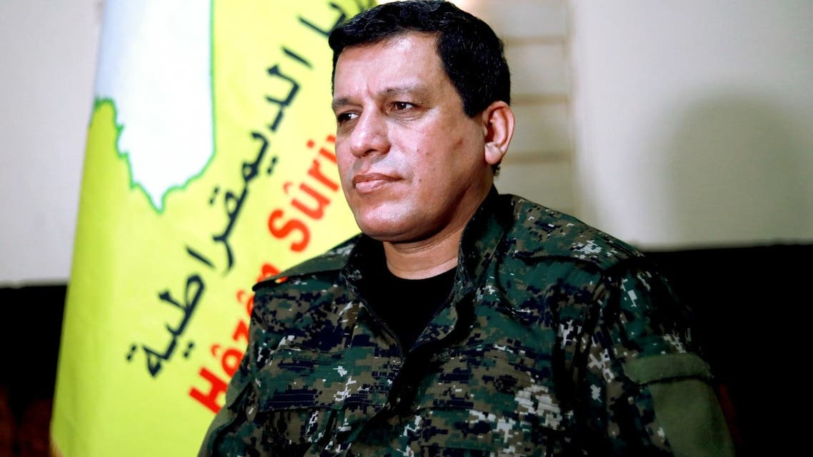 قائد قوات سوريا الديموقراطية مظلوم عبدي
