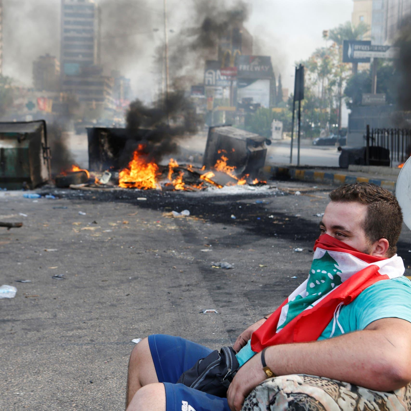 ارتفاع كلفة التأمين على ديون لبنان لـ5 سنوات بسبب التظاهرات