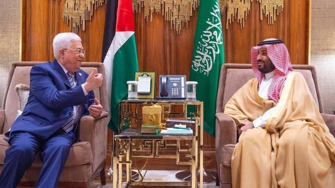 MBS and Mahmoud Abbas