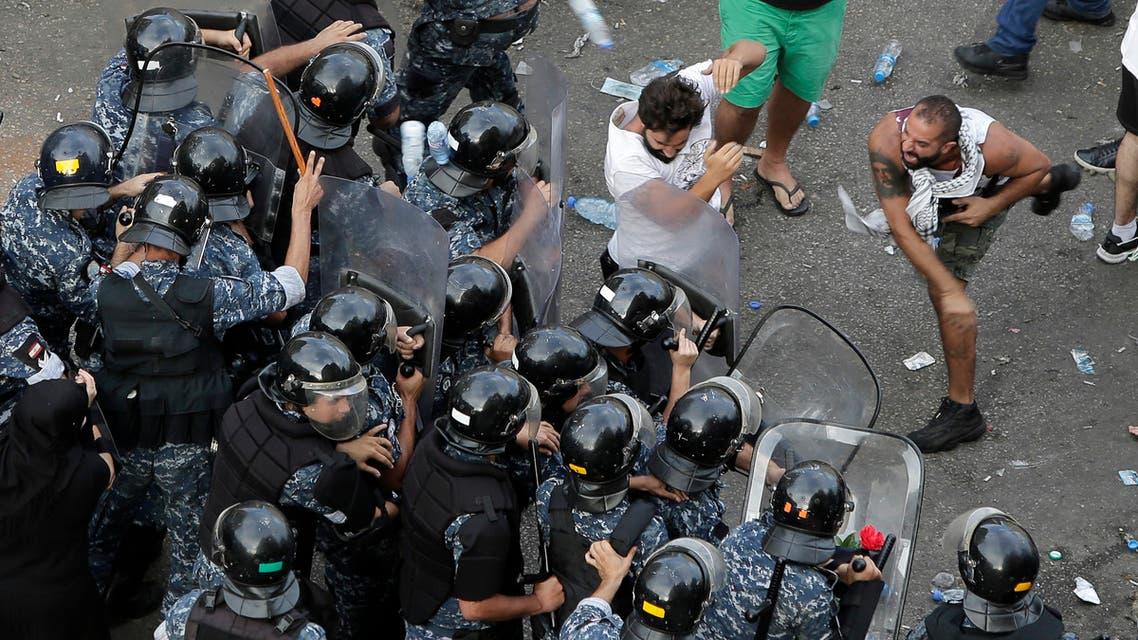18 أكتوبر مظاهرات لبنان اسوشيتد برس