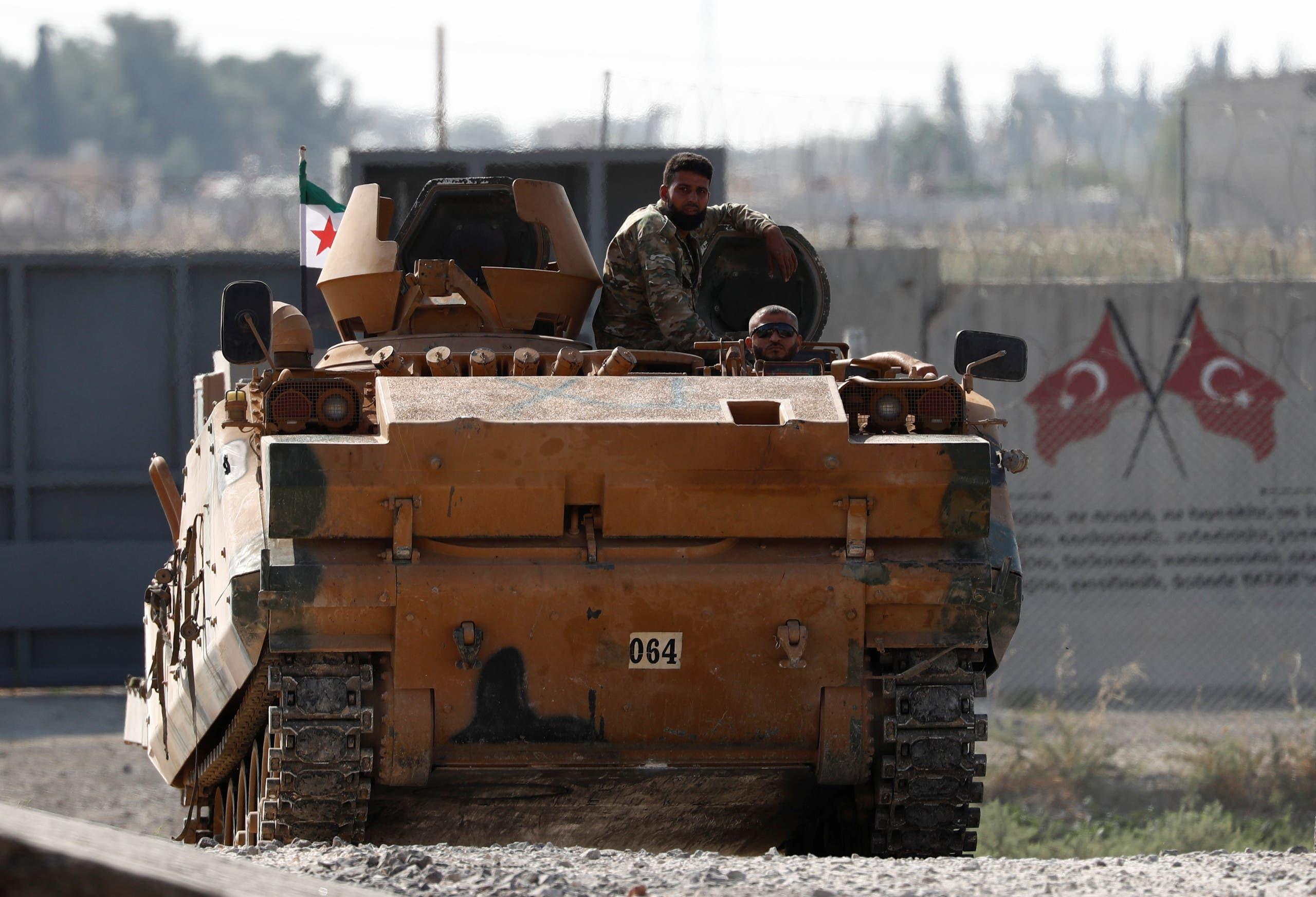 قوات تركية في شمال شرق سوريا