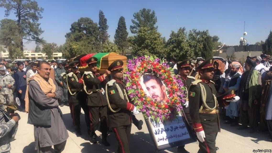 آکادمی پولیس افغانستان به نام «سترجنرال عبدالرازق» نام گذاری شد