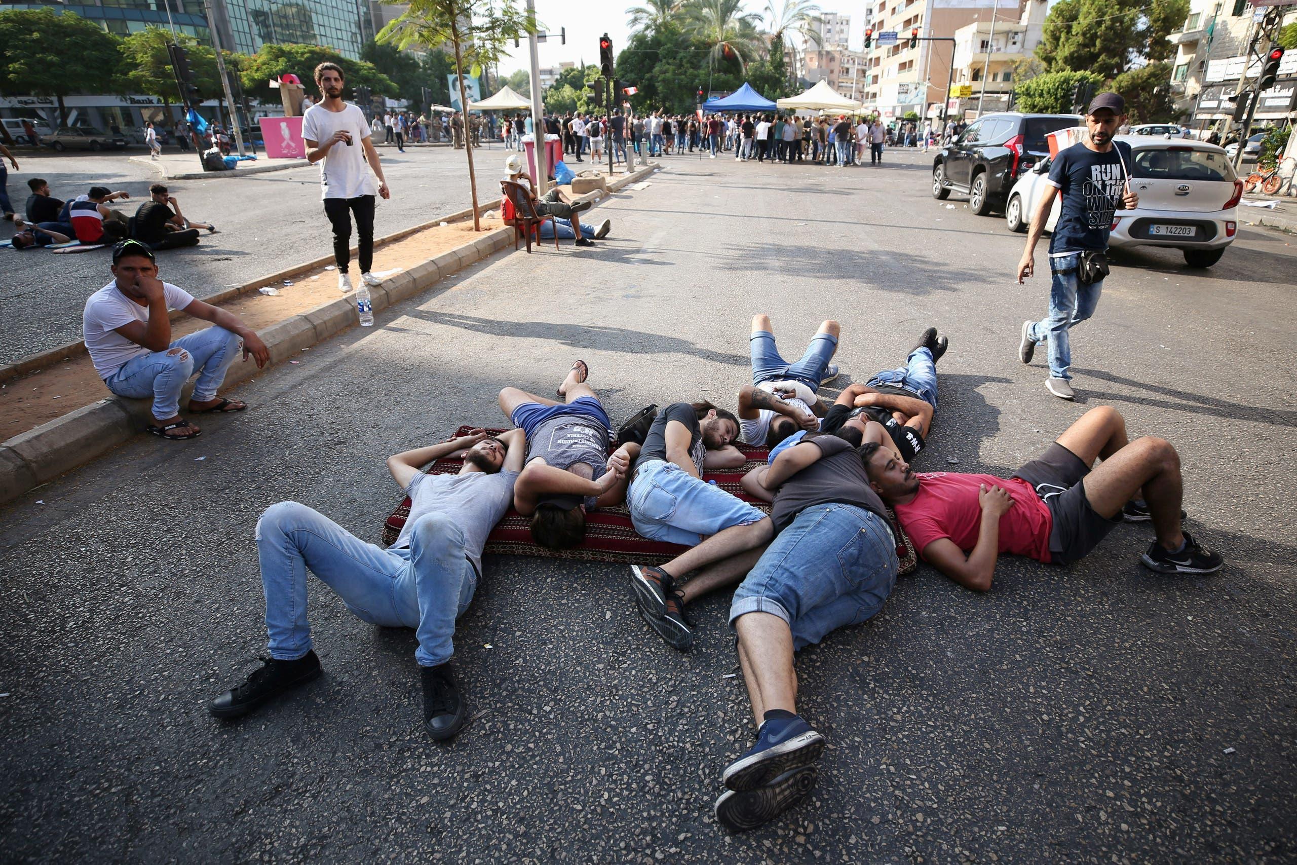 مشهد من لبنان رويترز 18 أكتوبر