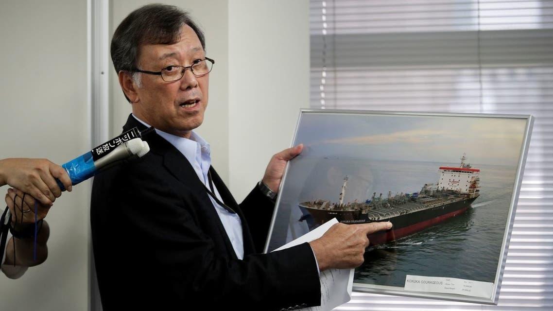 مسؤول ياباني يتحدث عن تعرض إحدىى ناقلات شركته لهجوم  (أرشيفية)