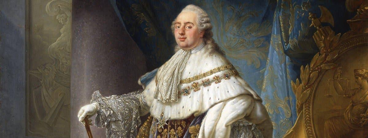 صورة للملك الفرنسي لويس السادس عشر