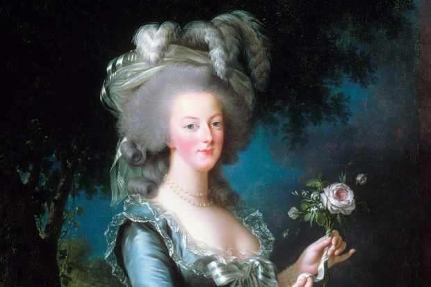 صورة للملكة الفرنسية ماري أنطوانيت