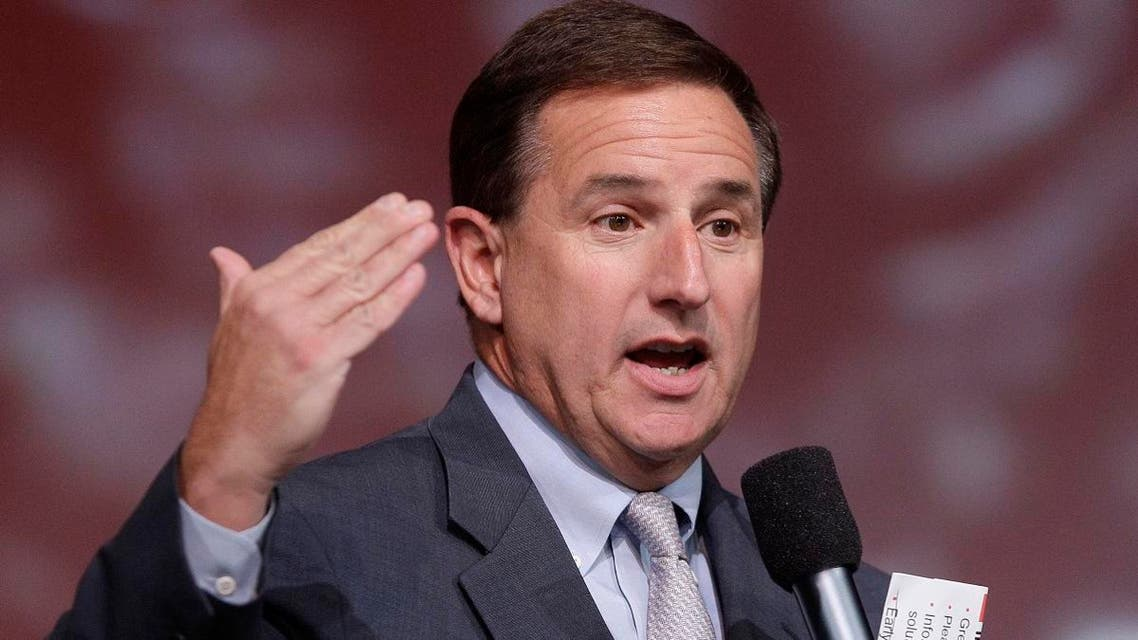 File photo of Oracle Corp's 62-year-old co-chief Mark Hurd. (AP)