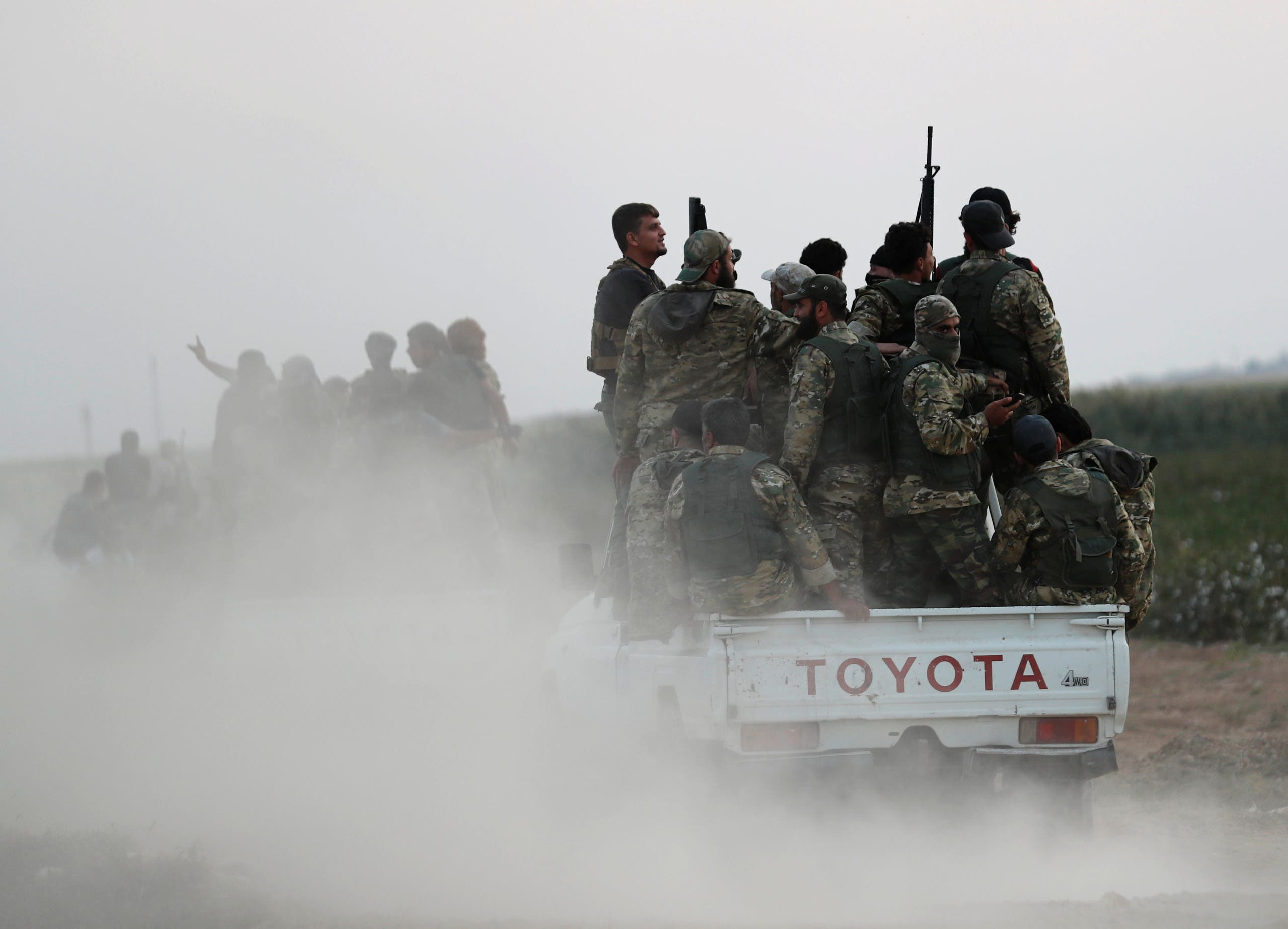 فصائل مسلحة موالية لتركيا