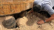 Egypt unveils trove of ancient coffins excavated in Luxor