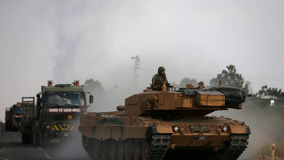 مركبات الجيش التركي
