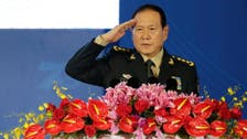 China's defense minister says resolving 'Taiwan question' is national priority