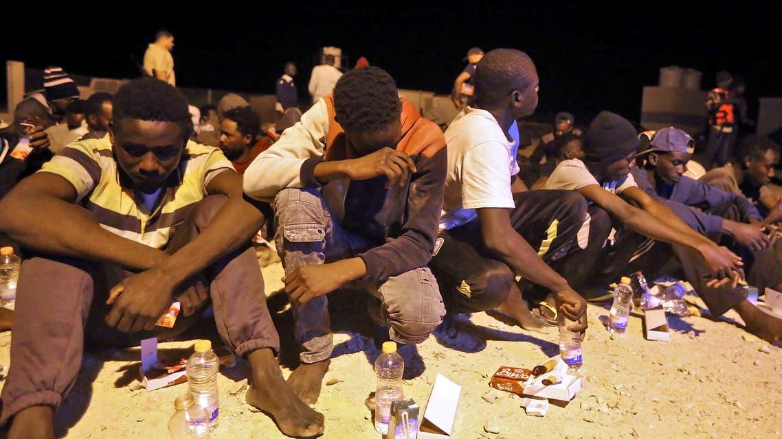إنقاذ مهاجرين قبالة سواحل ليبيا