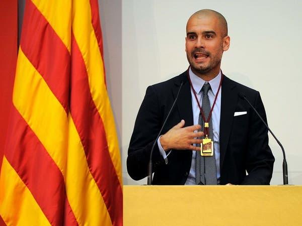 دعوات في كاتالونيا تطالب بتنصيب غوارديولا رئيساً للإقليم