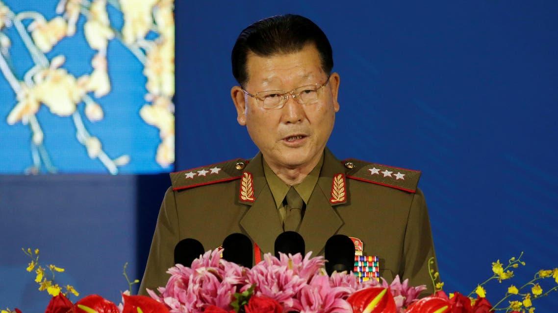 Kim Hyong Ryong - N Korea spokesman - Reuters