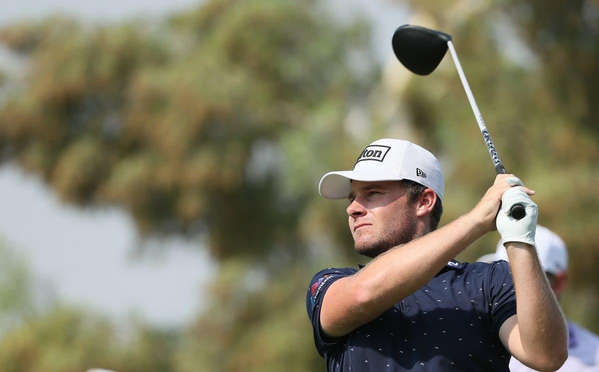 Nicolas Colsaerts of Belgium hits the ball during the final of the DP World Tour Championship at Jumeirah Golf Estates in Dubai. (File photo: AFP)