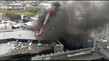 New Zealand battles to rein in blaze at convention center