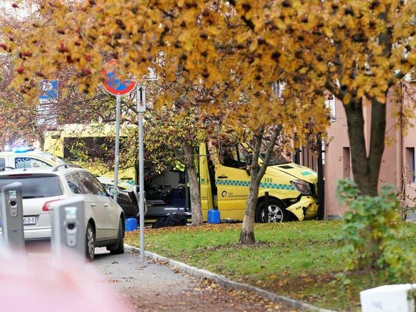 مسلح يسرق سيارة إسعاف في أوسلو ويصدم المارة