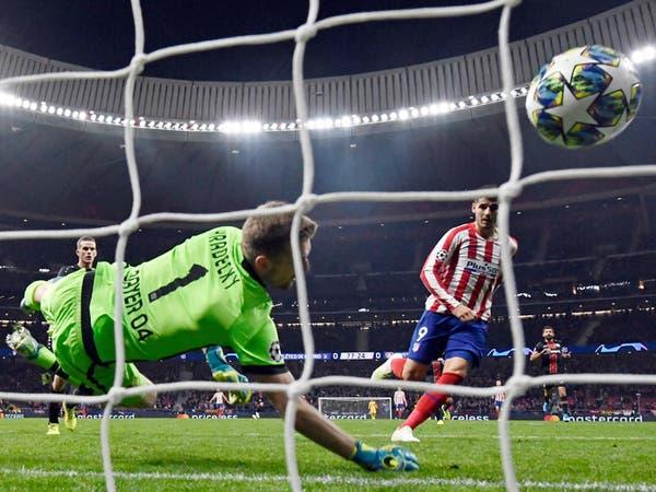 أتلتيكو مدريد ينتزع فوزاً صعباً من ليفركوزن